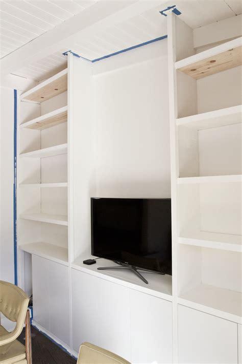 sarah sherman samuel house update diy built in shelving