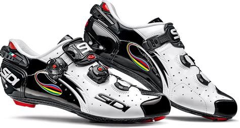 Kaos Kona Bike Mtb Gowes sidi wire carbon vernice road cycling shoes white black