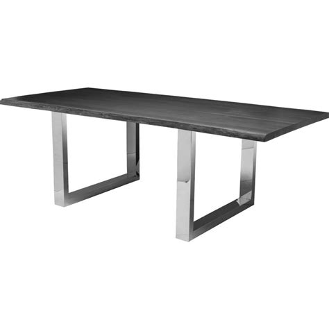 curie dining table oxidized grey oak