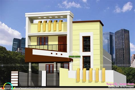 1300 sq ft low budget g 1 house design kerala home
