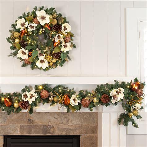fireplace garland with wreaths inspiring fireplace wreath stunning fireplace