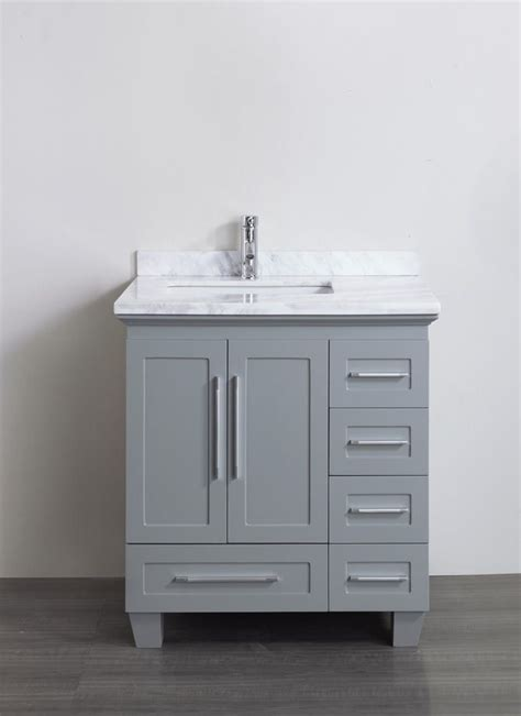 30 Inch Bathroom Vanity With Drawers Home Design Bathroom Vanities 30 Inch Wide