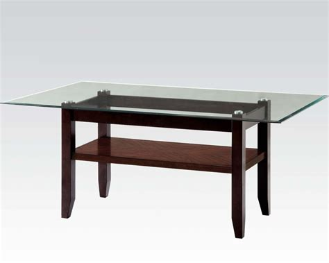 dining table in espresso finish ripley by acme furniture