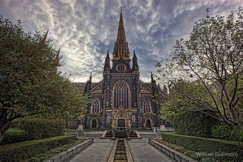 Catholic Home Decor by Quot St Patrick S Cathedral Melbourne Australia Quot By