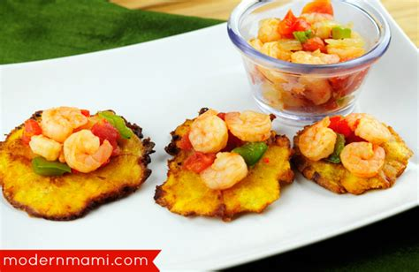 printable puerto rican recipes appetizer idea for lent puerto rican tostones with shrimp