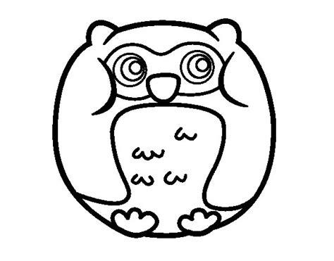 imagenes de animales kawaii para colorear dibujo de b 250 ho redondo para colorear dibujos net