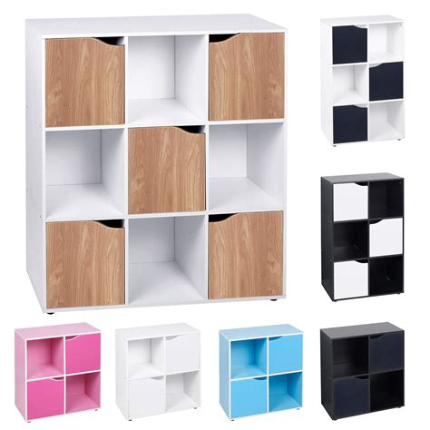 storage unit shelves 4 6 9 cube wooden bookcase shelving display shelves