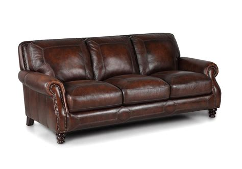overstock leather couch ashland hillsboro prairie meadows genuine leather sofa set