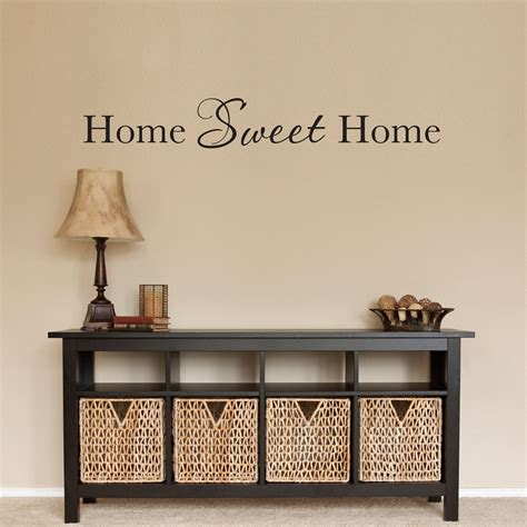 Etsy Wall - home sweet home wall decal home wall by stephenedwardgraphic
