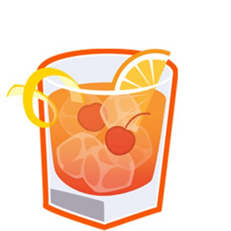 old fashioned cocktail clipart old fashioned icon cocktail icons softicons com