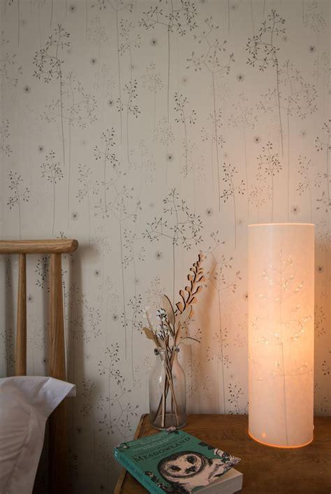 Hannah nunn meadow grass wallpaper for the wall around the fireplace kitchen pinterest
