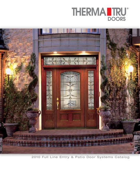 Patio Doors Ta 2010 Entry Patio Door Systems By Us Door More Inc Issuu