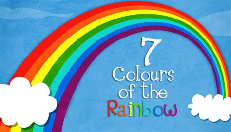 how many colors of the rainbow seven colours of the rainbow and facts geography for