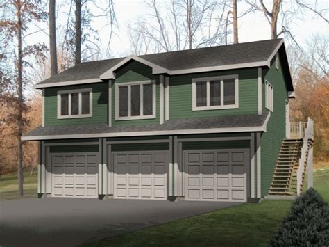 Large Garage Apartment Plans by Large Garage Apartment With One Bedroom Is Built