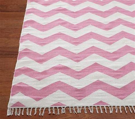 pink and white chevron rug chevron rug pottery barn