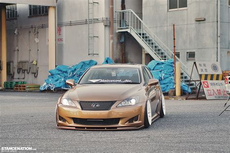 stanced lexus is250 lower standards kenji s usdm styled is250