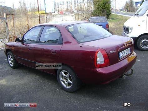 1999 daewoo nubira car photo and specs