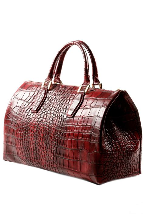Bamford Ombre Crocodile Bag by Crocodile Leather Bag Crocodile Leather And Bag