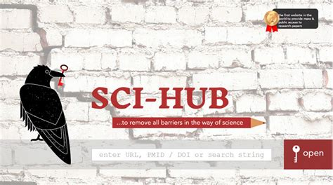 sci hub over sci hub en wat zoeksystemen uitgevers van