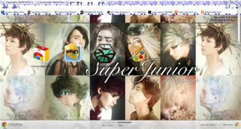 theme google chrome super junior catch up on your k pop with a super junior chrome theme