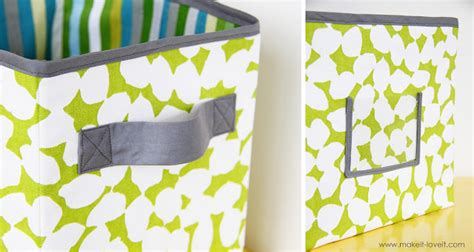 pattern for fabric boxes sew for home diy storage boxes tutorial