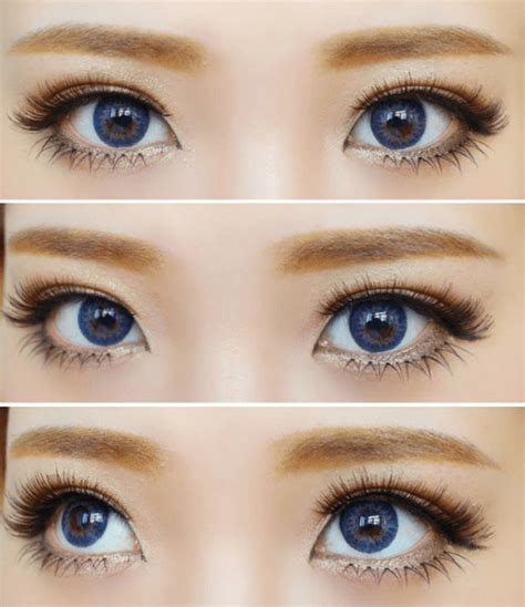 Geo Tri Color geo tri color blue circle lenses colored contacts