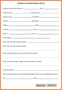 workplace injury report form template 5 workplace report form template progress report