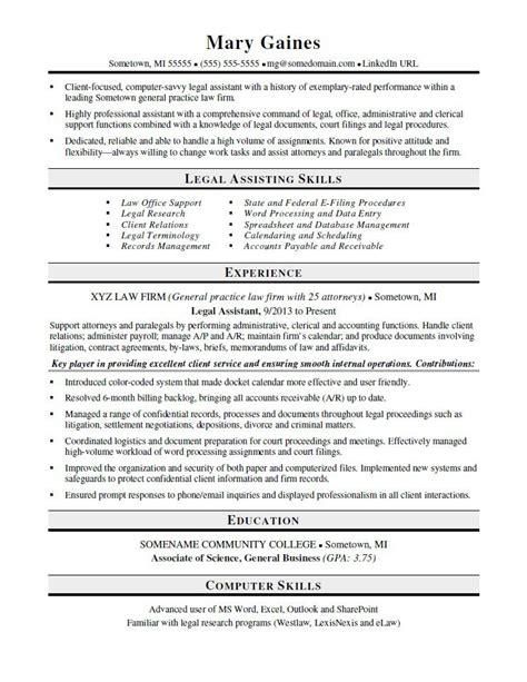 sample paralegal resume musiccityspiritsandcocktail com