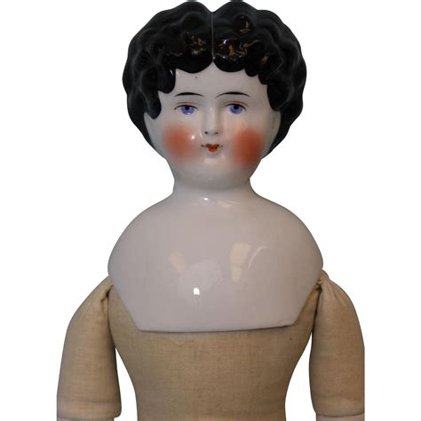 china doll marked 5 17 inch antique china german doll c1890 5