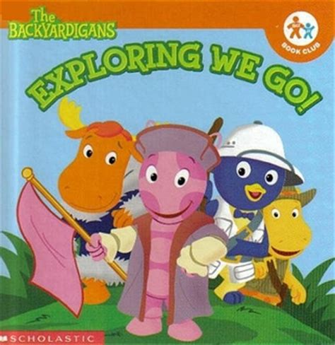 Backyardigans Books Exploring We Go Backyardigans Fross Gregg Schigiel
