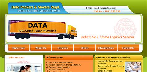 Packers Movers Website Design Service Packers Movers Logo Design Packers And Movers Html Templates