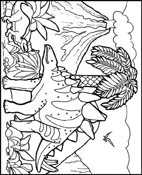 stegosaurus coloring page crayola com