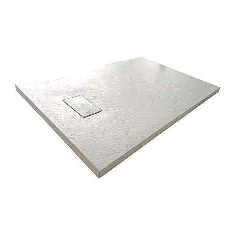 piatto doccia 80x90 piatto doccia 80x90 effetto pietra bianco stonessence slim