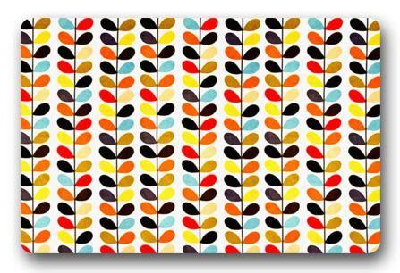 Orla Kiely Doormat by Custom Doormat Cool Orlakiely Cushion Orla Kiely Leaf