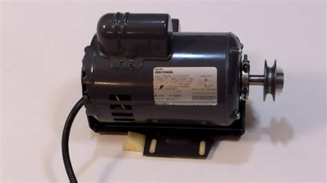 1 hp electric motor for table saw craftsman 820030 1 1 2 1 5 hp table saw motor 3450rpm cw