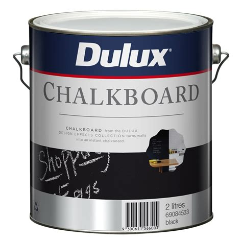 chalk paint at bunnings dulux 2l design black chalkboard paint bunnings warehouse