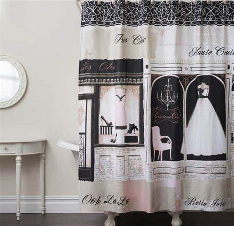 french style shower curtain french shower curtain in chic yet historical style