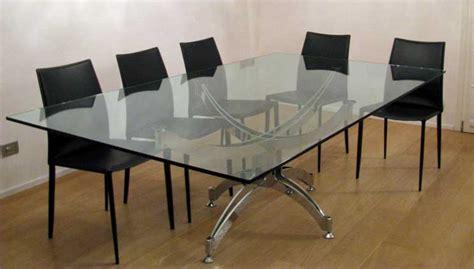 tavoli cristallo moderni tavoli in cristallo