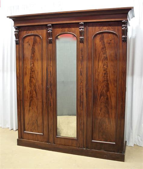 mahogany door wardrobe for sale