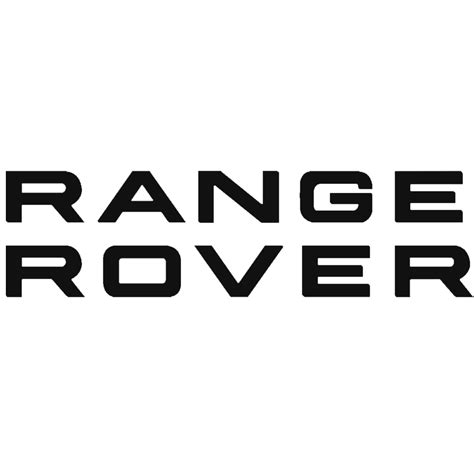range rover logo range rover brake caliper decals purpose made for brake