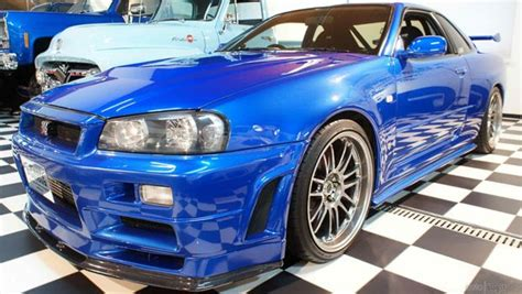 nissan skyline fast and furious paul walker la nissan skyline di paul walker in vendita a 1 milione di