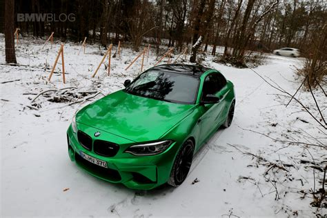 green bmw owner spotlight michael s bmw m2 in java green