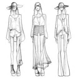 fashion design model sketch template fashion illustration annaszymanska1324161