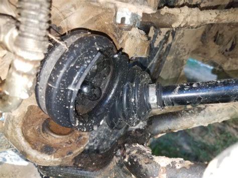 identify broken cv axle   vehicels axle shaft   repair