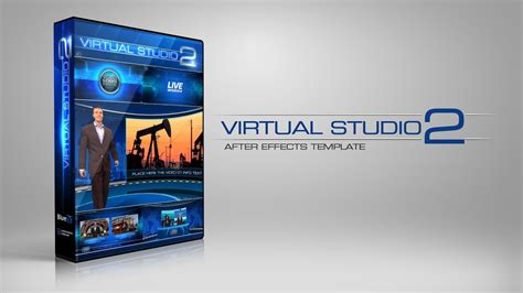 After Effects Virtual Studio Template Bluefx Youtube Live Reactions After Effects Template