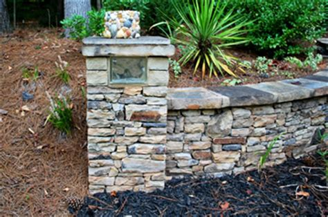 stacked stone bench peachtree city stone walls fayetteville ga stacked flag stone