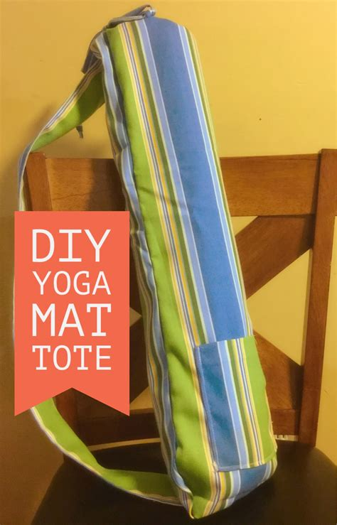 easy yoga bag sewing pattern tote bag tutorial sewing lined tote bag for beginners