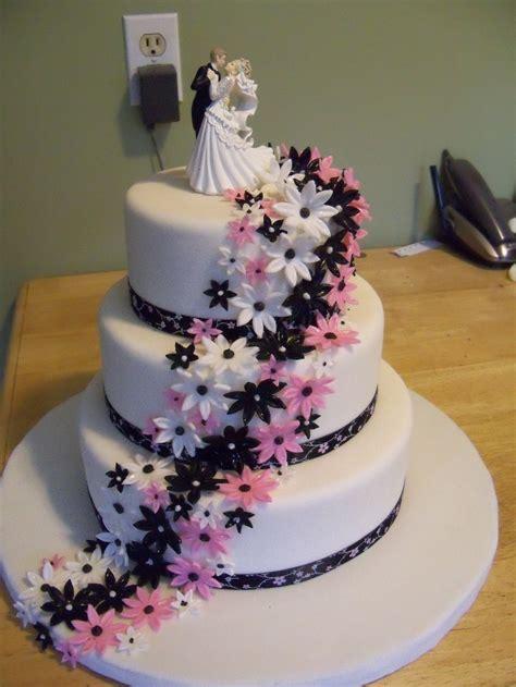 tier flower wedding cake cake designs   occasiongreat prices