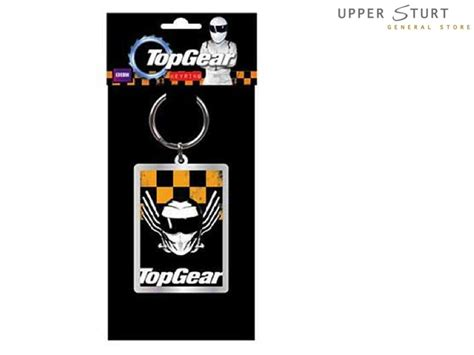 official top gear the stig car keyring in gift box ebay top gear the stig metal keychain yellow black sturt general store
