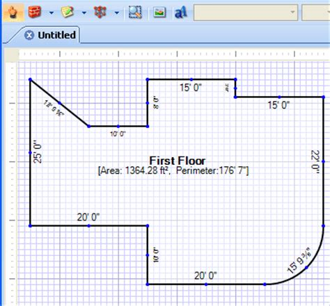 how to calculate square feet rapidsketch 174 features